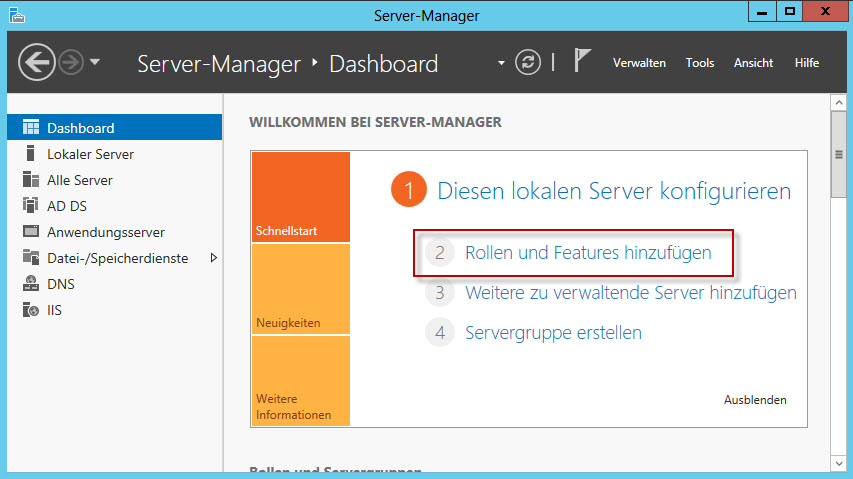 Windows Server 2012 Zertifizierungsstelle installieren » By Malte ...